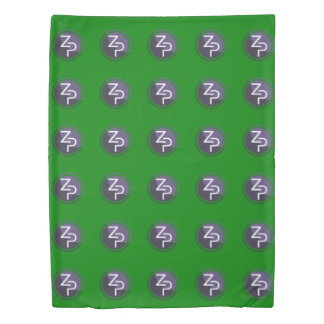 PIVX zPIV 6x5 Green Twin Size Duvet Cover