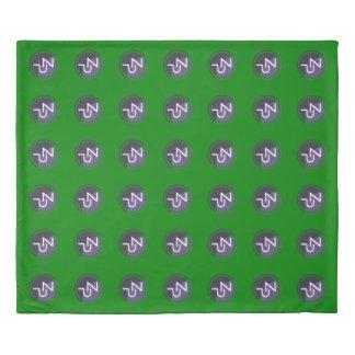 PIVX zPIV 7x6 Green King Size Duvet Cover
