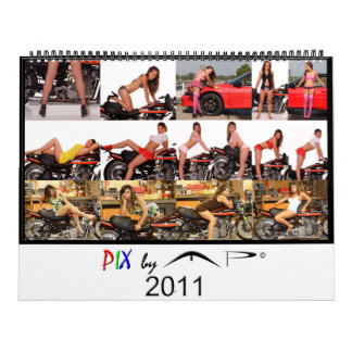 PIX by MP 2011 Model Calendar