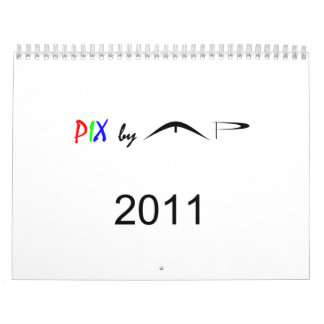 PIx by MP Wall Calendar