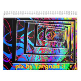 pix by Yargnad :) Wall Calendar