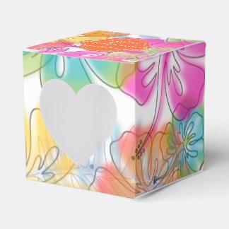 PixDezines alegre/DIY background color Favor Box