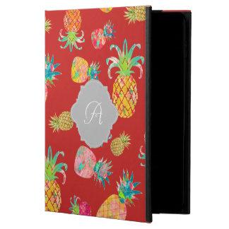 PixDezines Aloha Pineapple+Floral Watercolor