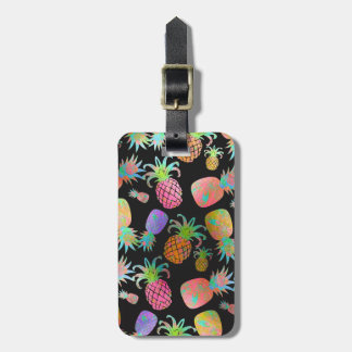 PixDezines Aloha Pineapples Luggage Tag