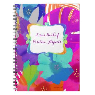 PixDezines bali kai/book of positive aspects Notebook