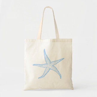 PixDezines Blue Starfish Tote Bag