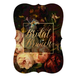 PixDezines Bridal Brunch/Still Life Floral Card