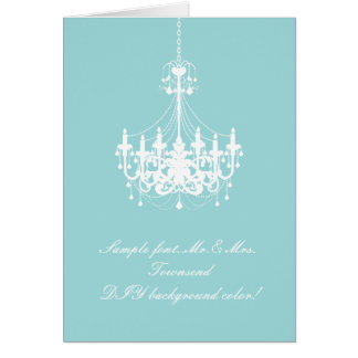 PixDezines Chandelier/DIY background color Card