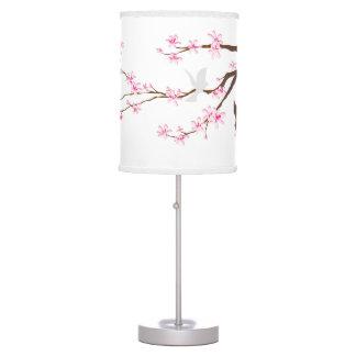 PixDezines cherry blossoms/sakura Table Lamp