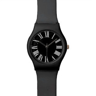 PixDezines classic roman numeros DIY Background Watch