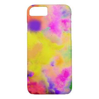 PixDezines color run just for fun iPhone 7 Case