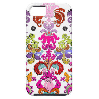 PixDezines colorful Isabella Damask/DIY color iPhone 5 Covers