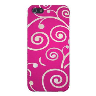 PixDezines Cupcake Swirls, faux pearl+14 colors iPhone 5 Covers
