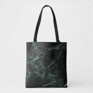 PixDezines DARK GREEN MARBLE Tote Bag