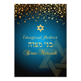 PixDezines DAZZLED GOLD/B'nai Mitzvah/DIY Colour Card