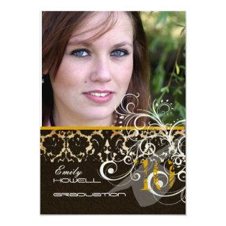 PixDezines Desiree Damask/2011 Graduation Invites