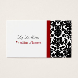 PixDezines/diy background/black flora damask Business Card