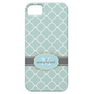 PixDezines diy background color/quatrefoil pattern iPhone 5 Cases