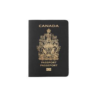 PixDezines DIY color/Faux Gold/Canadian Passport Holder