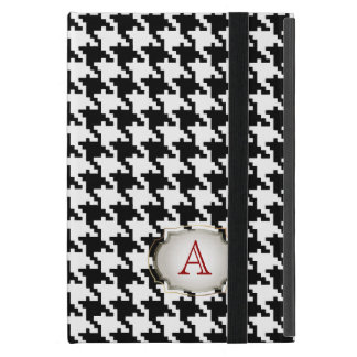 PixDezines diy color/hounds tooth pattern+monogram iPad Mini Case