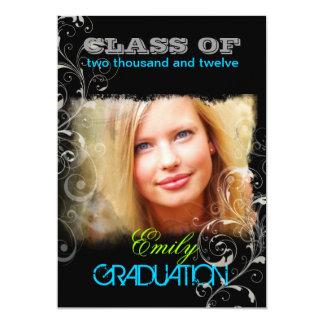 PixDezines/diy color/swirls 2012 graduation Announcements