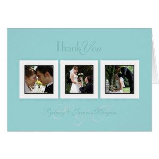 PixDezines diy color+text/wedding photos thank you Card