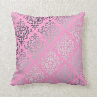 PixDezines diy colors/josehpine damask Throw Pillow