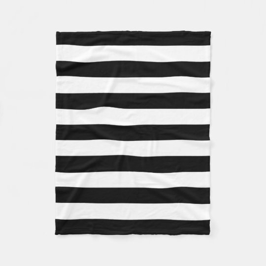 PixDezines DIY colour/black/white/stripes Fleece Blanket