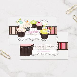 PixDezines diy cupcake Business Card