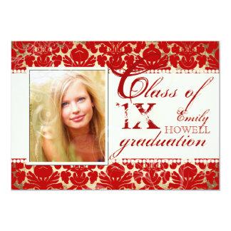 PixDezines diy text colors/2012 Grads, damask Card