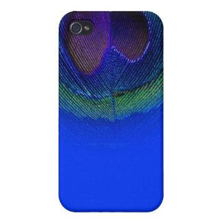 PixDezines electric blue peacock eye iPhone 4 Case