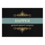 PixDezines elegant pin stripes+scrolls/diy colour Business Card Templates