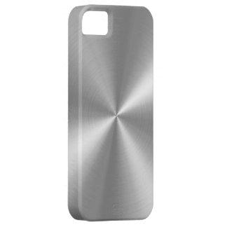 PixDezines faux brushed aluminum iPhone 5 Cover