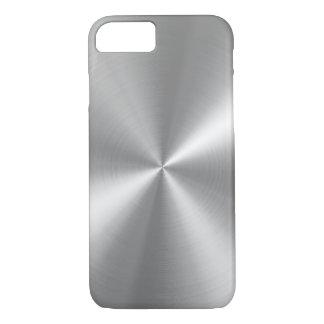 PixDezines faux brushed aluminum iPhone 7 Case