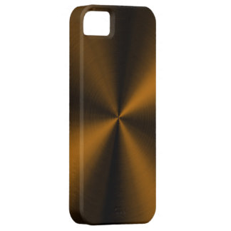 PixDezines faux brushed copper iPhone 5 Case