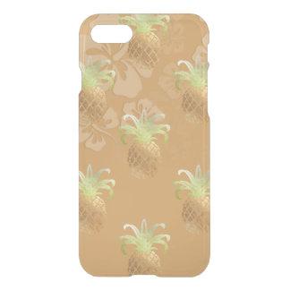 PixDezines Faux Gold Pineapples/Hibiscus iPhone 8/7 Case