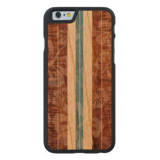 PixDezines Faux Koa/Surfboard/Hibiscus Carved Cherry iPhone 6 Case