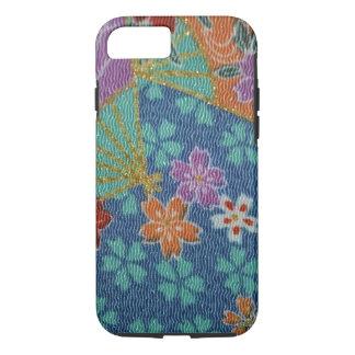 PixDezines faux shirimen/jpeg kimono/ iPhone 7 Case
