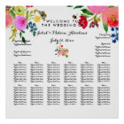 PixDezines Floral Watecolor/Seating Chart