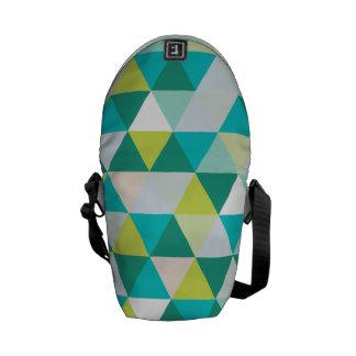 PixDezines geometric pattern/adjustable Messenger Bag