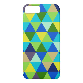 PixDezines geometric/peaock/blue iPhone 7 Case