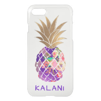 PixDezines Hawaii/Aloha Pineapple iPhone 8/7 Case