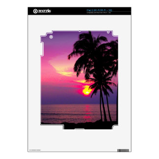 PixDezines hawaiian sunset iPad 2 Skins