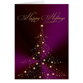 PixDezines Holiday Cards, Christmas Tree Card