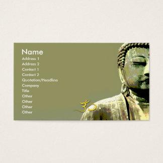 PixDezines japanese buddha Business Card