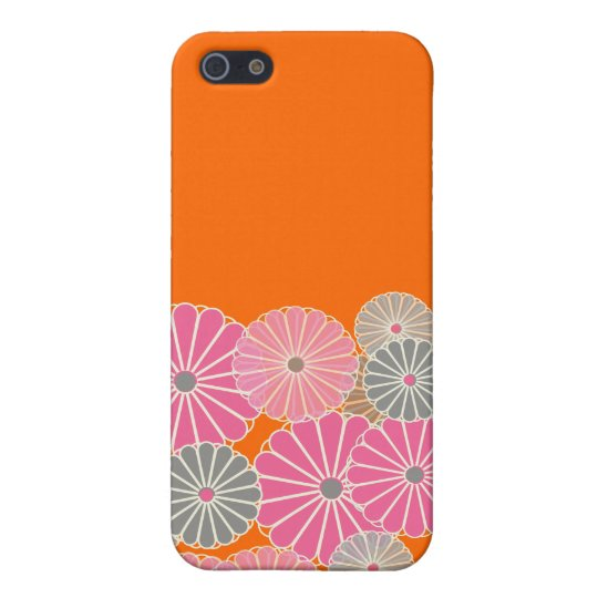 PixDezines Kiku, Chrysanthemums iPhone 5 Cases