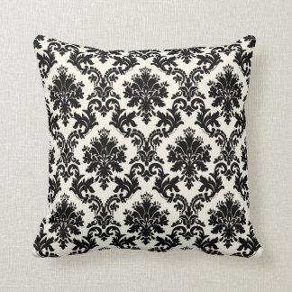 PixDezines la paloma damask/diy background Throw Pillow