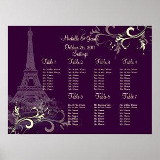 PixDezines la tour eiffel/paris Print