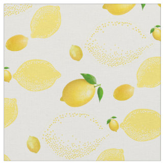 PixDezines lemons/DIY Background Fabric