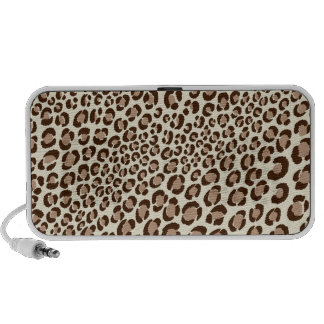 PixDezines Leopard Spots au naturelle ♥♥♥♥ Portable Speaker